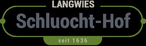 Schluocht-Hof Langwies Logo